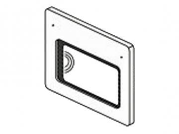 Backofentür links weiss HSD76 HSD86