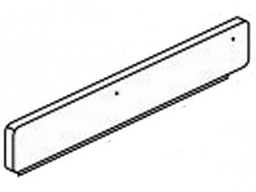 Holzwagenblende HSD76 HSD86 kiesel