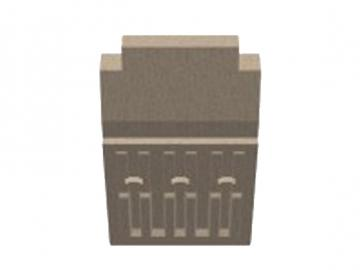 Rückwandstein Heizeinsatz Creation 6
