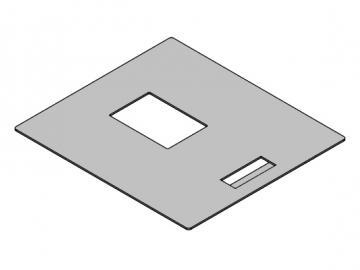 Tankdeckel Grau Pelletto II/III