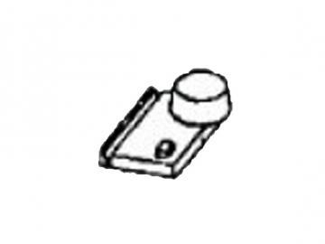 Brennkammerdeckel .50 RO mit Stutzen
