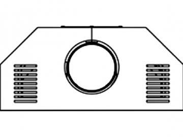 Deckplatte hinten Stahl 253.17
