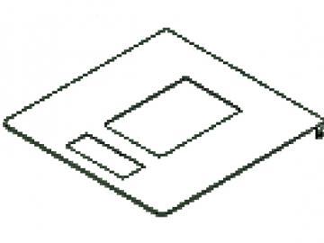 Tankdeckel anthrazit HSP 2