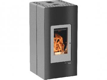 Haas und Sohn Pelletofen HSP 6 Premium 521.08 grau-schwarz