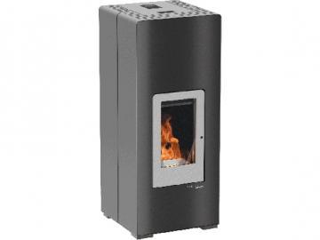 Haas und Sohn Pelletofen HSP 6 Premium Grande 539.08 grau-schwarz