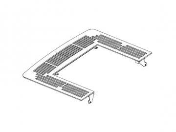 Deckplatte anthrazit HSP6 WT
