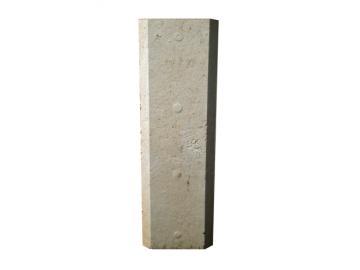 Schamott Diagonalstein 158