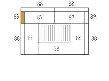 Schamott Seitenstein 89