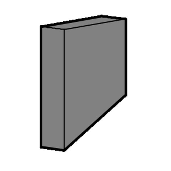 Vermiculite Seitenstein oben (Stein A)