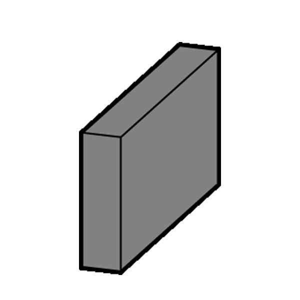 Vermiculite Seitenstein (Stein C)