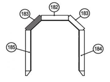 Vermiculite Diagonalstein 183