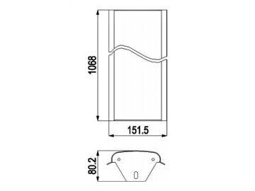 Seitenverkleidung Stahl