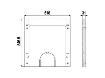 Deckplatte 255.15