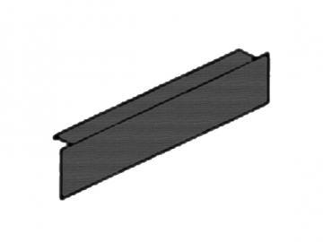 Sockelblende schwarz HSZ40