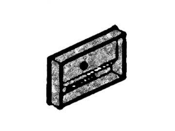 Heiztürschutzplatte